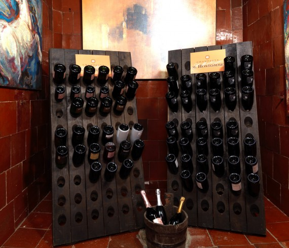 champagne - cave à vin - Marseille