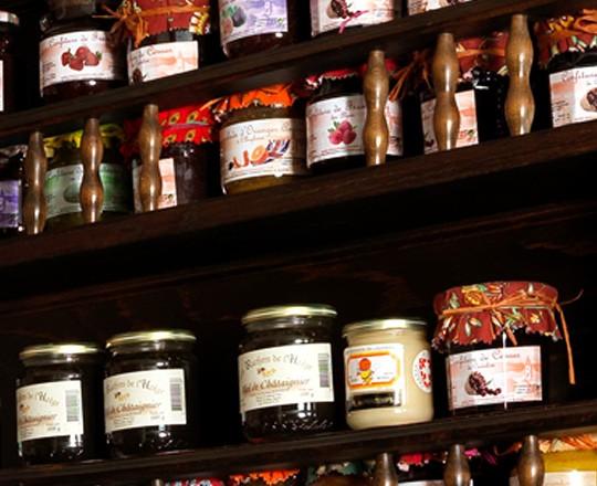 Produit artisanal - confiture - produit frais et fait maison - le coq gourmand - marseille
