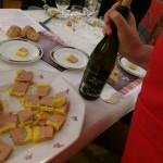 foie gtas et vins de fêtes