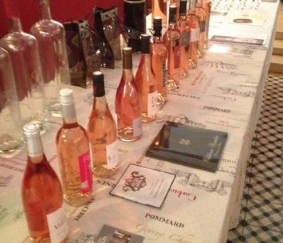 degustation vins roses