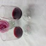 verres de vins rouges