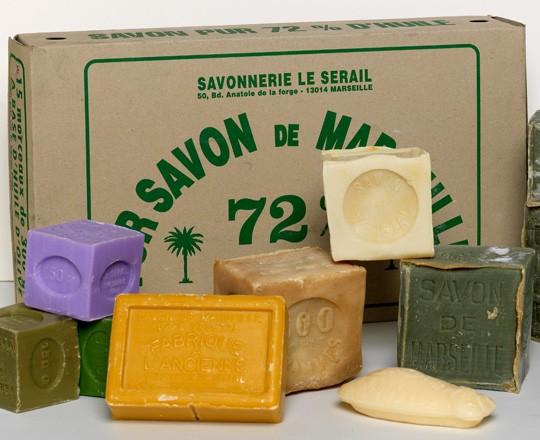 Produit artisanal - savon de marseille - le coq gourmand - Marseille