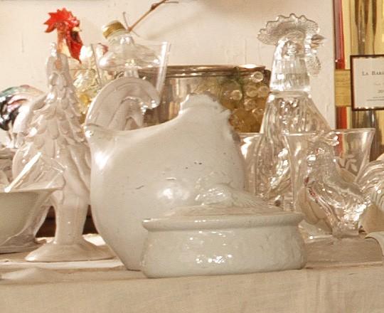 Objet décoration - coq sous toutes ses formes - le coq gourmand - marseille