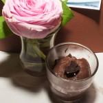 mousse chocolat noir et gingenmbre